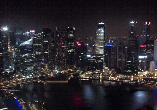 Singapour quartier des affaires