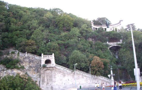 Vers la citadelle - Budapest