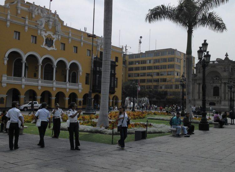 Place centrale -Lima - Pérou
