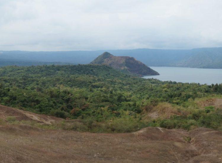 Vue volcan Taal - Philippines