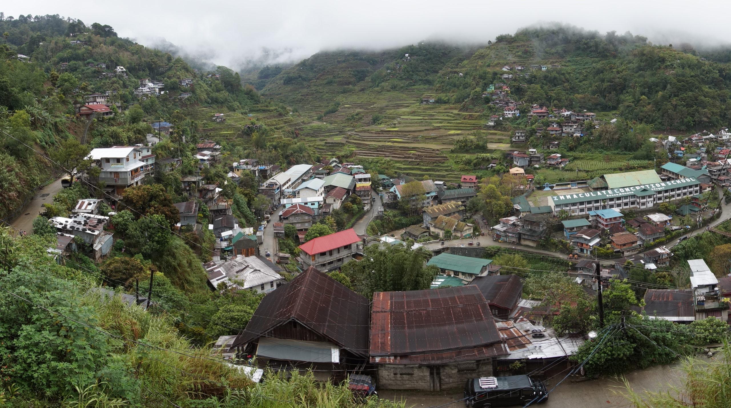 Banaue rizières d'ifugao - Philippines