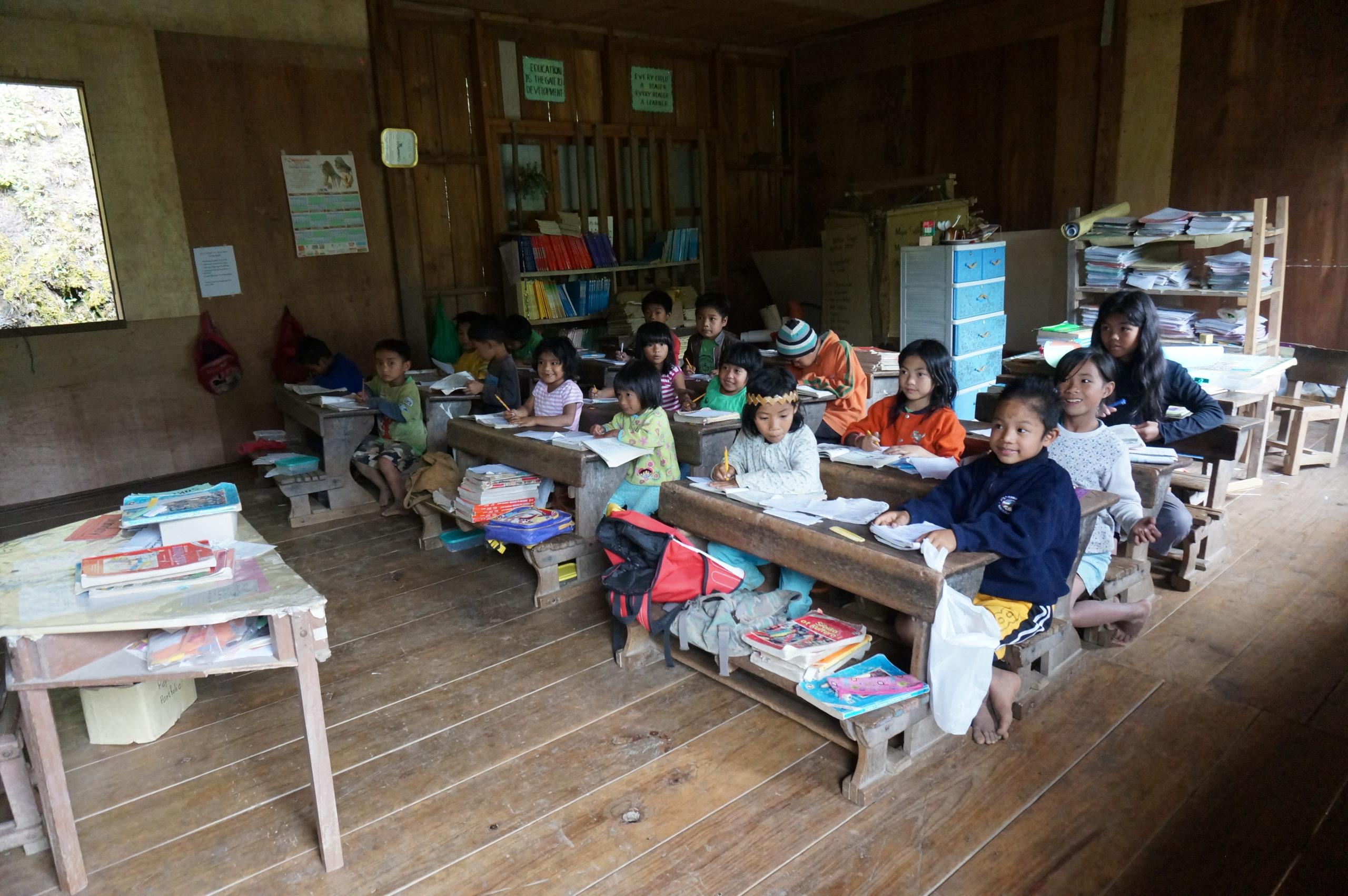Philippins à l'école