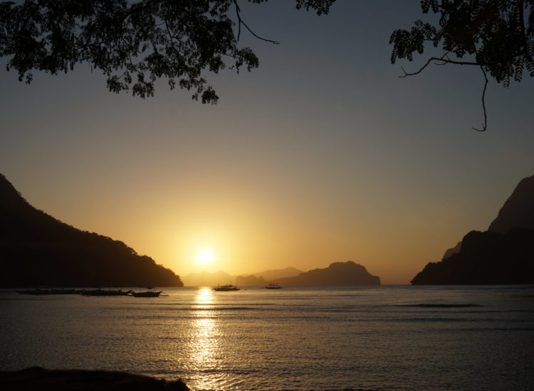 Coucher de soleil - Palawan - Philippines