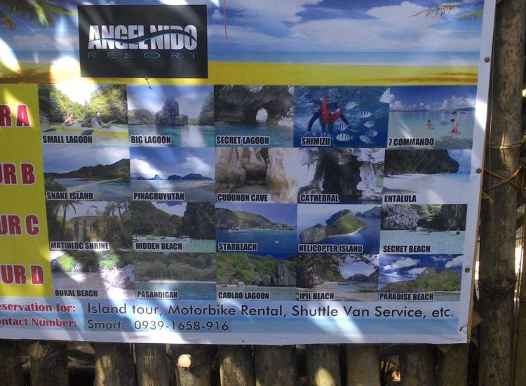 Les tours à Palawan - Philippines