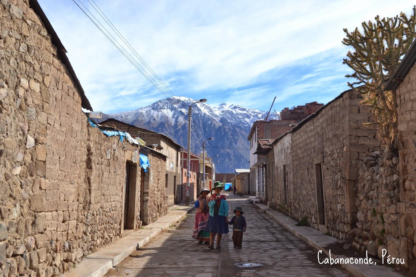 Cabanaconde - Pérou
