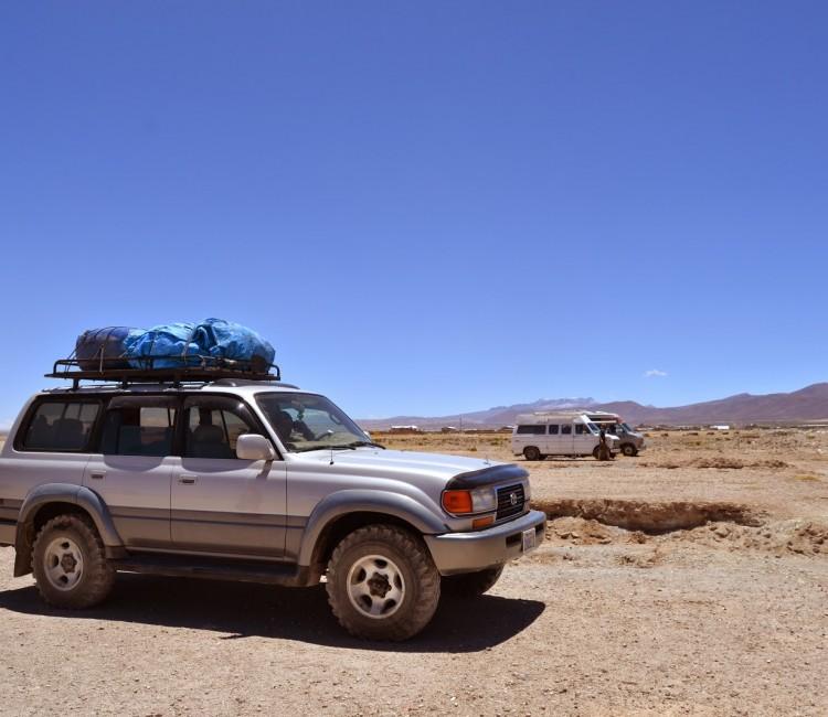 Uyuni transporte - Bolivie