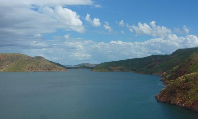 Argile lake australie