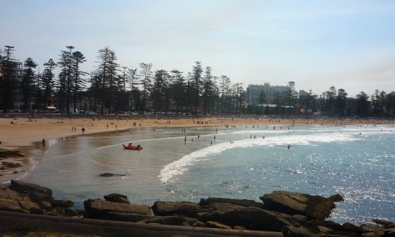 Manly beach australie