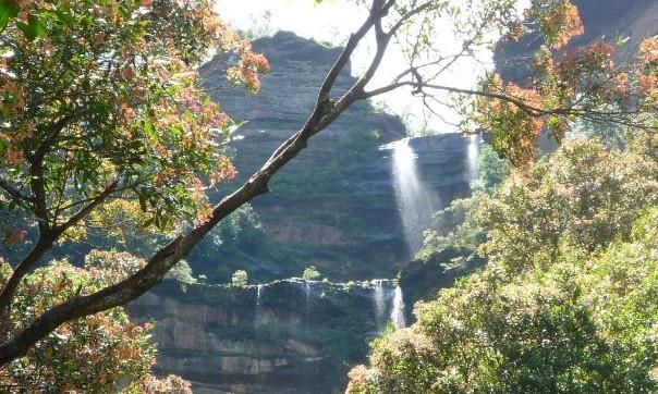 cascades blue mountains australie