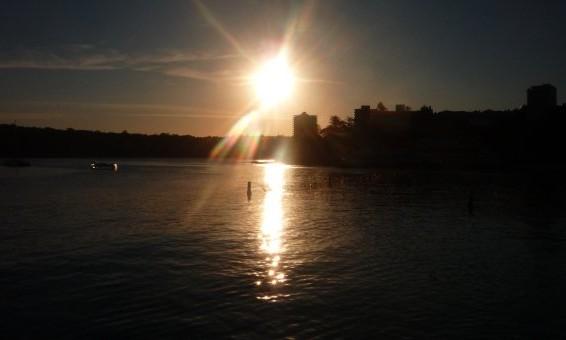 coucher soleil manly - Australie