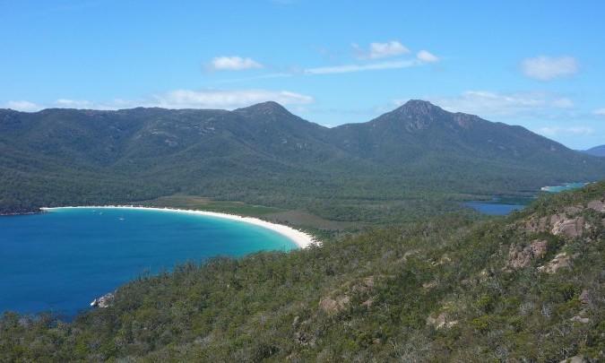 Freycinet national parc tasmanie australie
