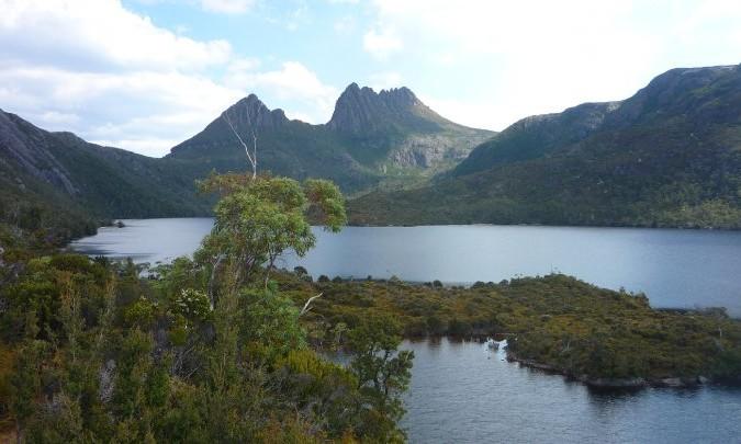 Craddle mountains tasmanie australie