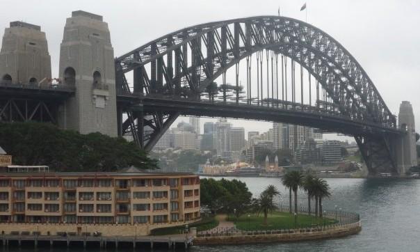 harbour bridge -Australie