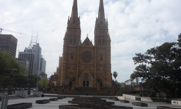 Cathedral lucie Sydney - Australie