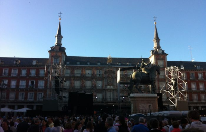 Plaza Mayor- Madrid