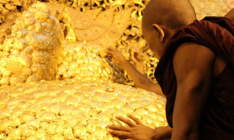 Pagode Mahamuni - Birmanie