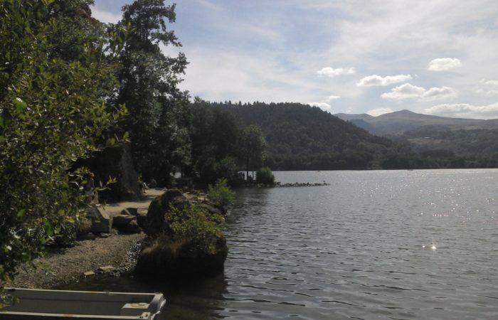 Lac Chambon - Monts d'auvergne