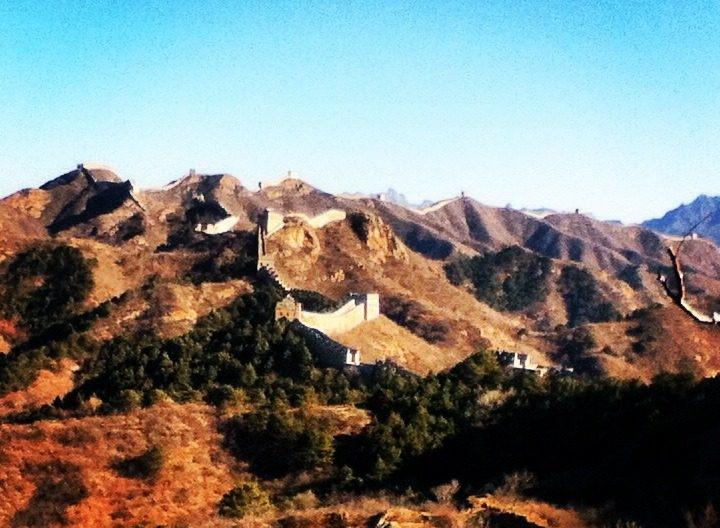 Pékin et la grande muraille de Chine