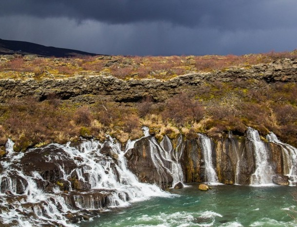 Barnafoss - Islande
