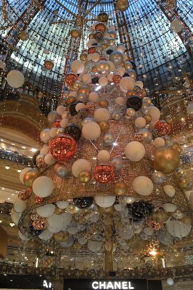 Noel aux Galeries Lafayettes
