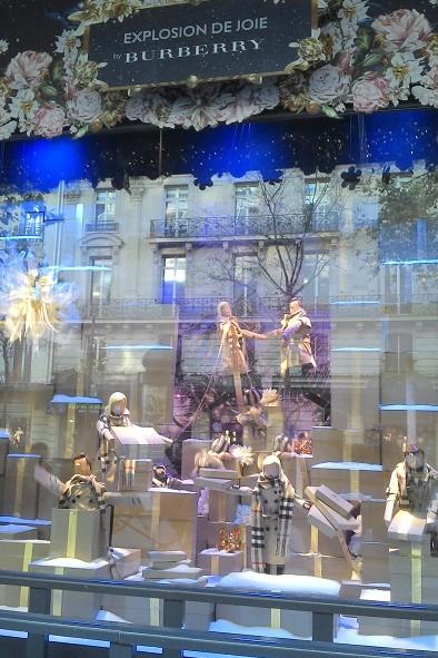 Vitrine de Noel aux Galeries Lafayettes