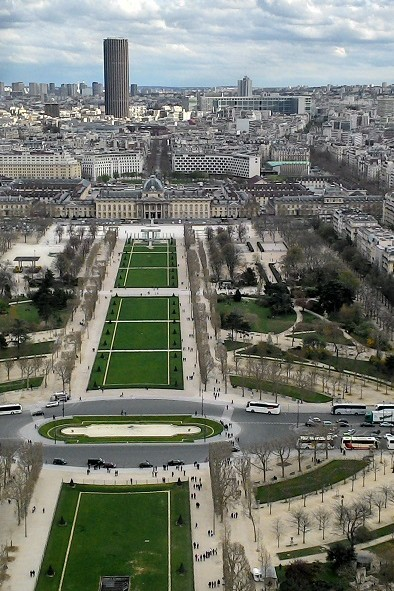 Vue de la Tour Eiffel - Paris