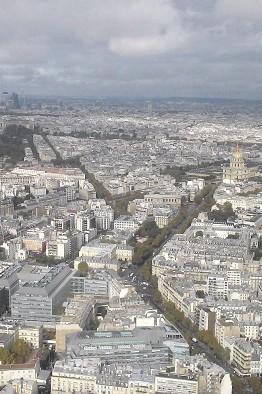 Vue Tour Monptarnasse - Paris