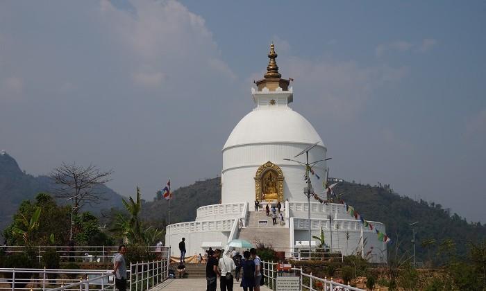 Peace Pagoda _ Pokhara _ Népal