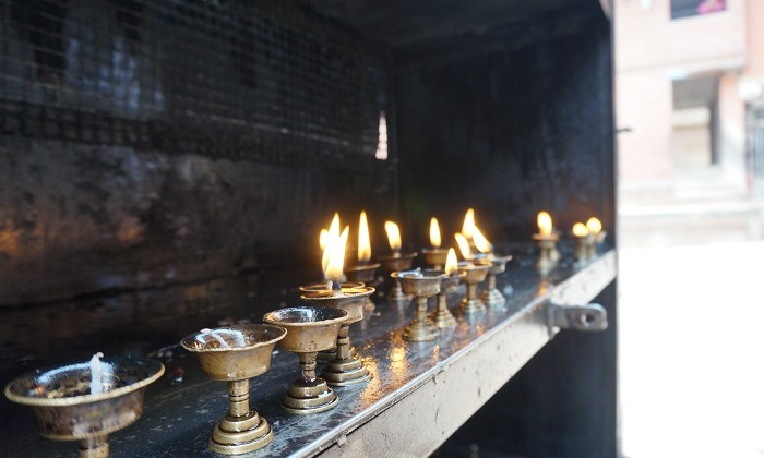 Golden temple - Patan - Népal