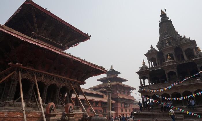 Durbar square - Patan - Népal