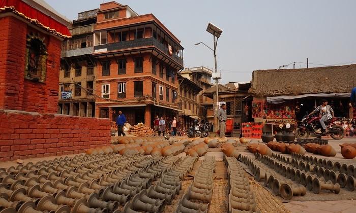Potter's square _ Bhaktapur