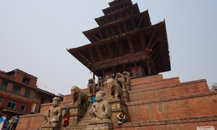 Taumadhi square _ bhaktapur