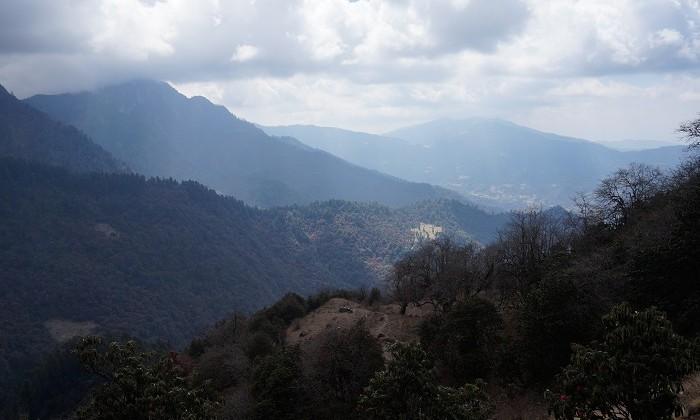 Way to Kophra - Trek Annapurnas - Népal
