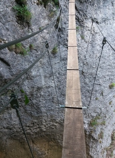 Via ferrata St vincent de mercuze