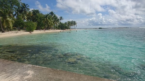 Voyage Guadeloupe : Plage de Sainte Anne