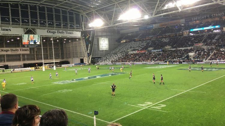 Match de rugby - Dunedin