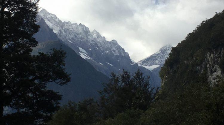 Route entre Te Anau et Milford Sound