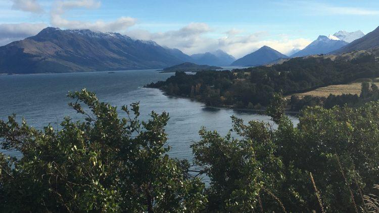 Route Burn Track _ Nouvelle Zélande