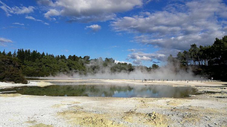 Wai o taipu - Géothermie Rotorua