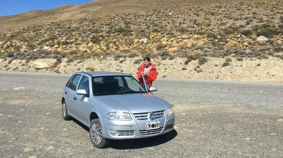 Voiture El Calafate _ Patagonie Argentine