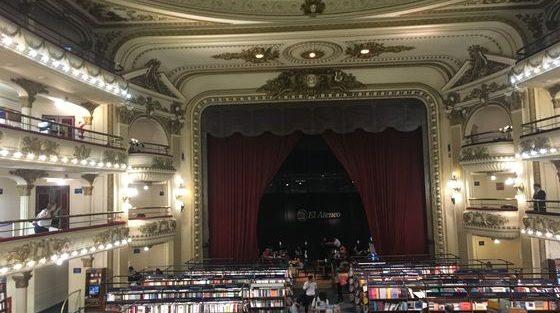 Librairie El Ateneo Grand splendid_Buenos Aires_Argentine