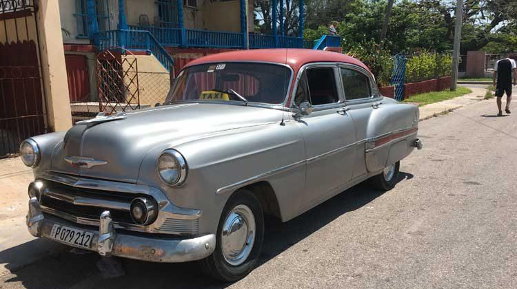 Taxi-La Havane - Cuba
