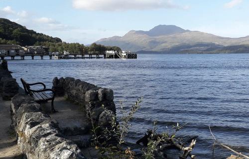 Loch Lormond_Ecosse, grand lac en Ecosse