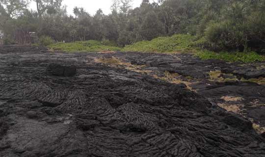 Route des laves - la Réunion