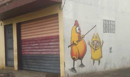 Street art - Saint Pierre - La Réunion
