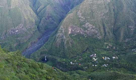 Vue Grand Bassin - La Réunion