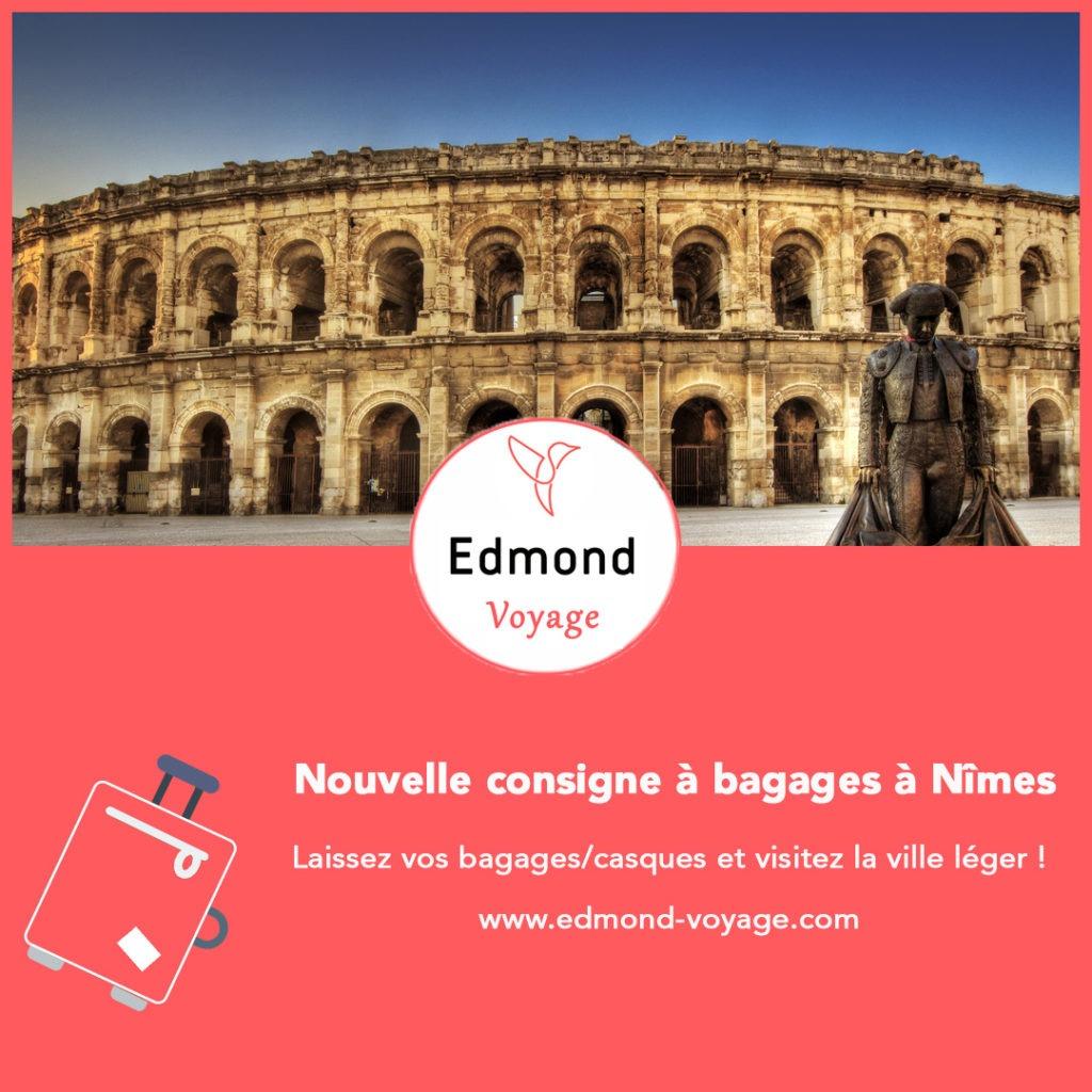 Consigne à bagages à Nîmes