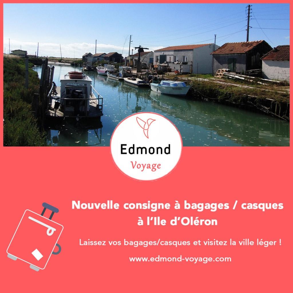 consigne bagages ile d'Oléron